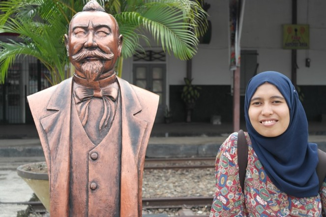 Rani and Mr....umm, i forget, hahaha.